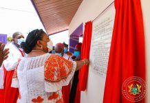 First Lady's inauguration of Anglican Church Secretariat