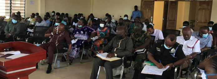 first ordinary session of the Ada East District Assembly