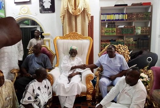 Former Regional Minister donates to National Chief Imam