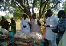 Adaklu MP presents items to Muslim