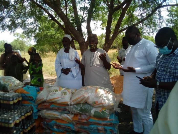 Adaklu MP presents items to Muslim