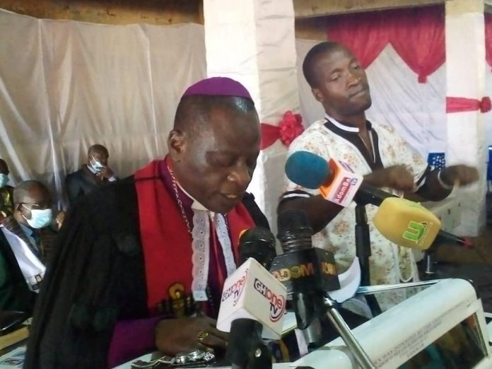 Right Reverend Daniel De-Graft Brace