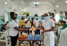 Hayil Ladies Ministry donates