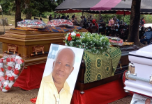Tim Dzamboe laid to rest