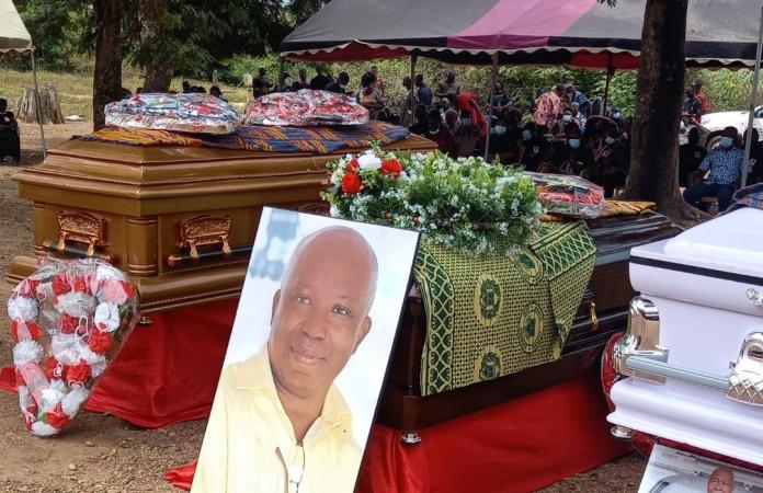 Tim Dzamboe laid to rest