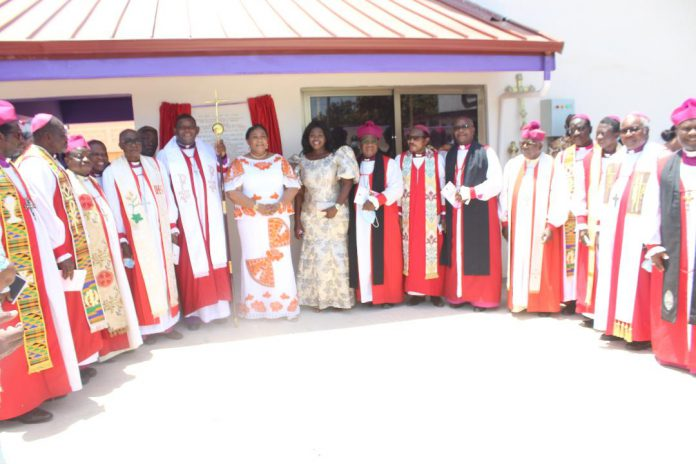 First Lady inaugurates Anglican National Secretariat