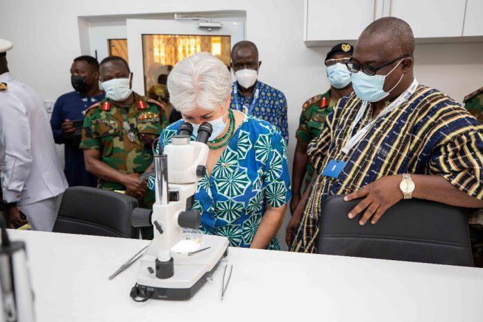 Malaria-Focused laboratory at 37 Military Hospital