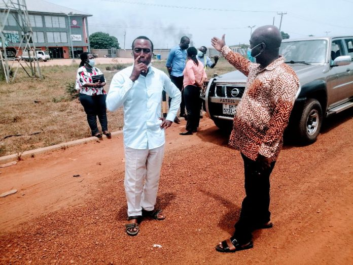 MCE Inspection of road project