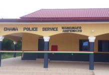 Police Station at Wamanafo-Ampenkro