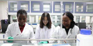Rwandan students study in China