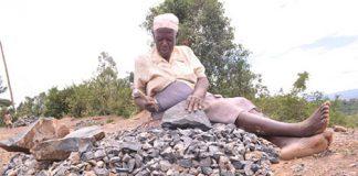 stone-crushing