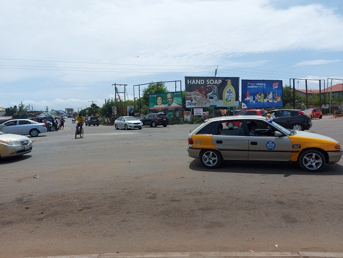 Nungua-Barrier Intersection