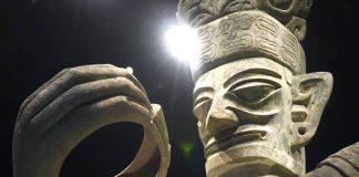 legendary Sanxingdui Ruins site
