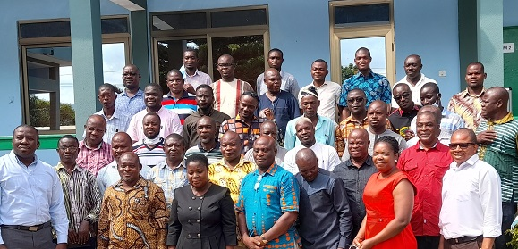 A cross section of participants