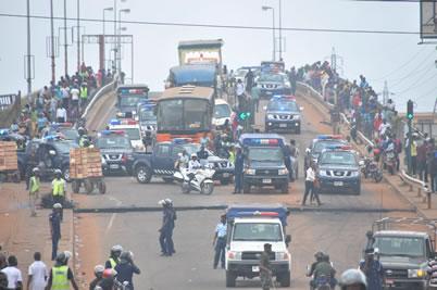 Ashaiman protests