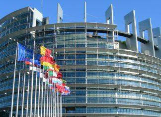 The European Parliament building in Strasbourg, France. (Shutterstock)
