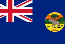 Flag of the Gold Coast (1877–1957)