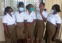 Some environmental health students