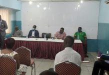 Mr Anthony Morrison, CEO Chamber of Agribusiness Ghana, addressing the media.