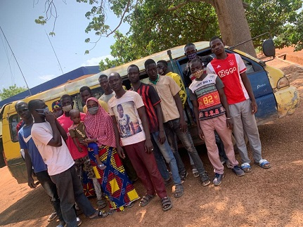GIS intercepts 26 irregular migrants in UWR