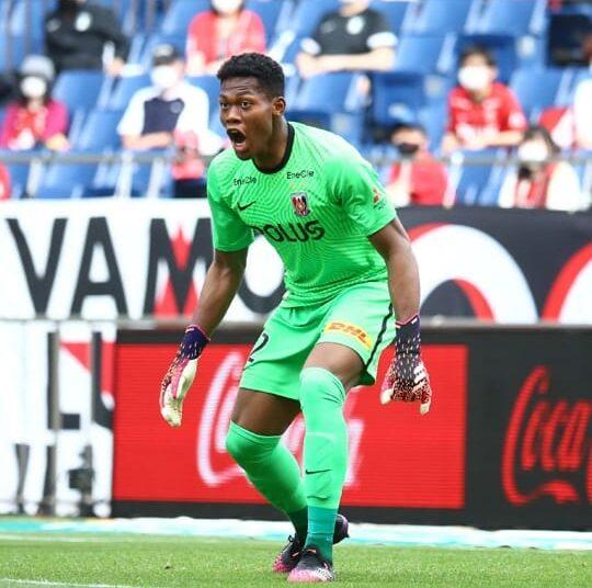 Jap Ghana keeper