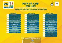 MTN FA Cup Round of 32