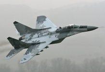MiG-29 fighter