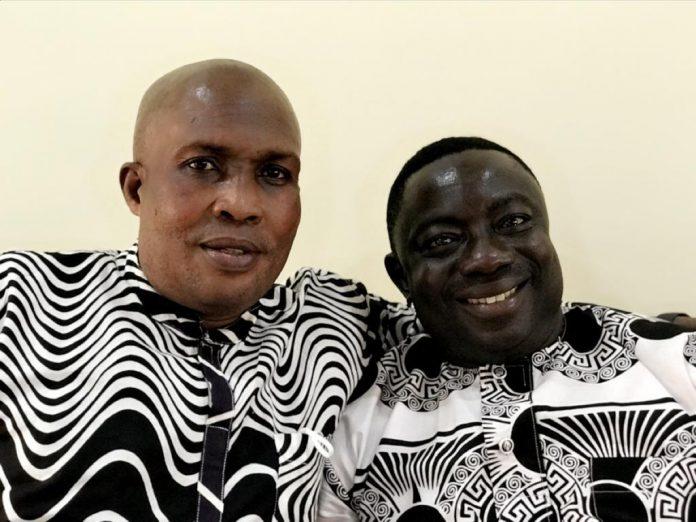 Mr. Poku Frimpong (Reg. Sec and Mr.Robert Aryertey National Organiser