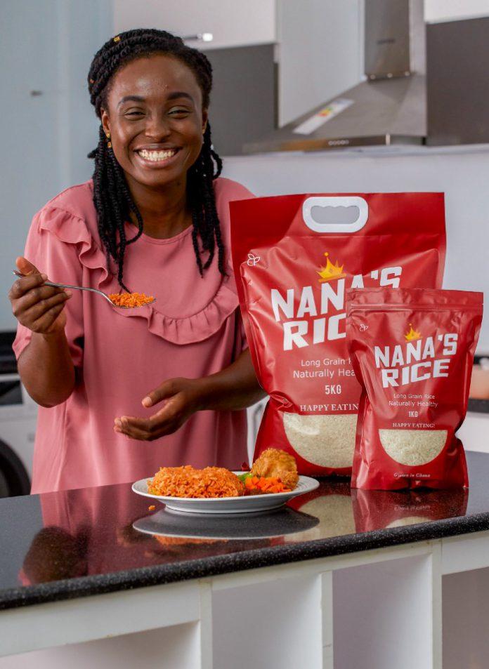 Happy Eating with Nana's Rice