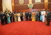 Akufo-Addo has presented letters of credence to 21 appointed envoys