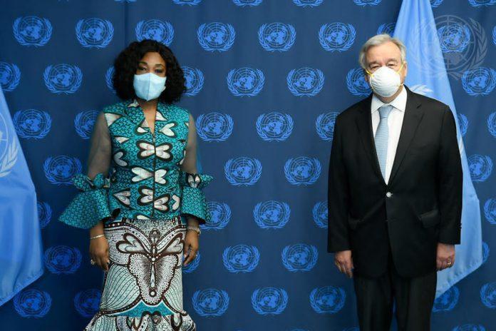 Madam Shirley Ayorkor Botchwey paid a courtesy call on Mr Antonio Guterres, United Nations (UN) Secretary-General