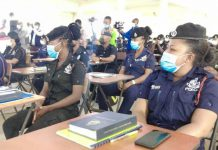 Police Constables undertake promotional course