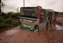 Heavy rains render Voradep village-UHAS roads