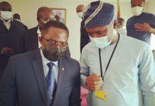 Ben Nunoo Mensah and Mustapha Ussif