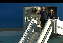 Biden Arrives in UK