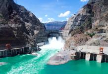 Wudongde hydropower plant