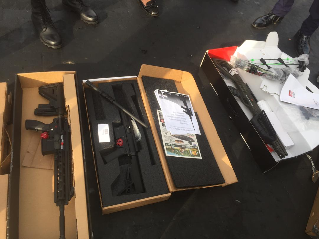 Customs Intercept Arms At Port Of Tema