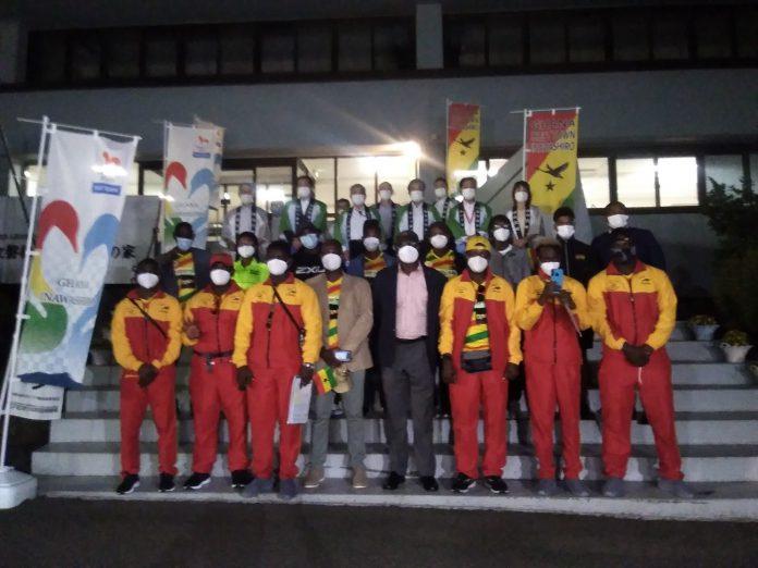 Team Ghana Arrives In Inawashiro