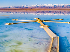 Photo shows the splendid scenery of the Chaka Salt Lake, a popular tourist destination in northwest China's Qinghai province. (Photo/Official website of the Chaka Salt Lake)
