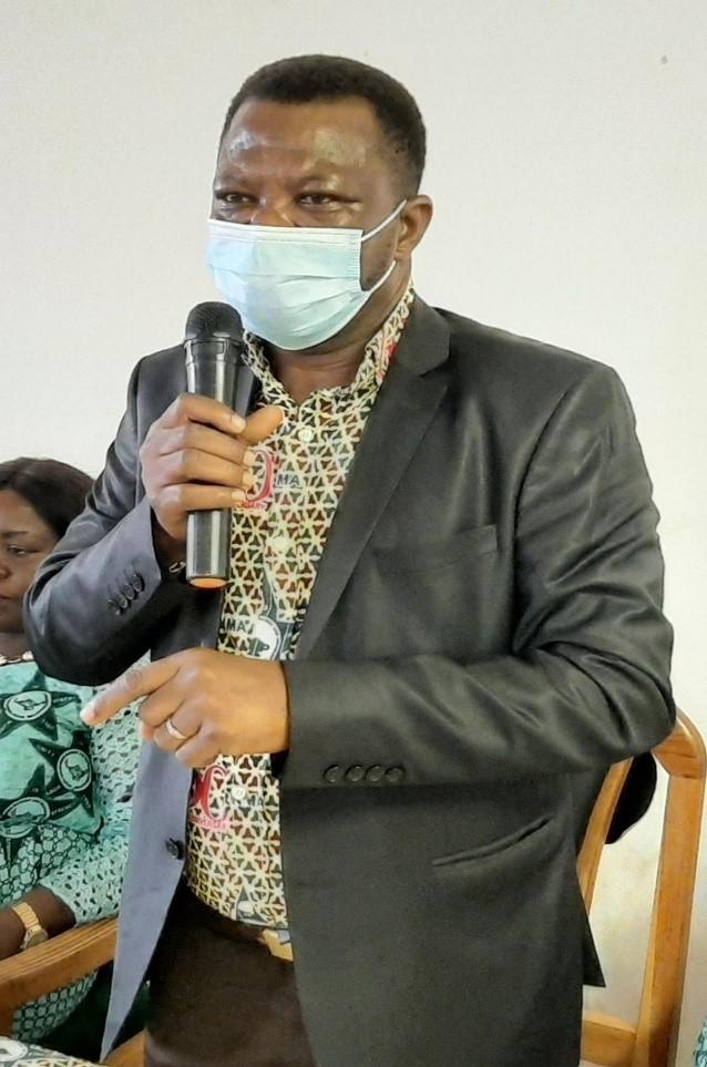 Mr Samuel Alagkora Akolgo, First Vice President of the GRNMA