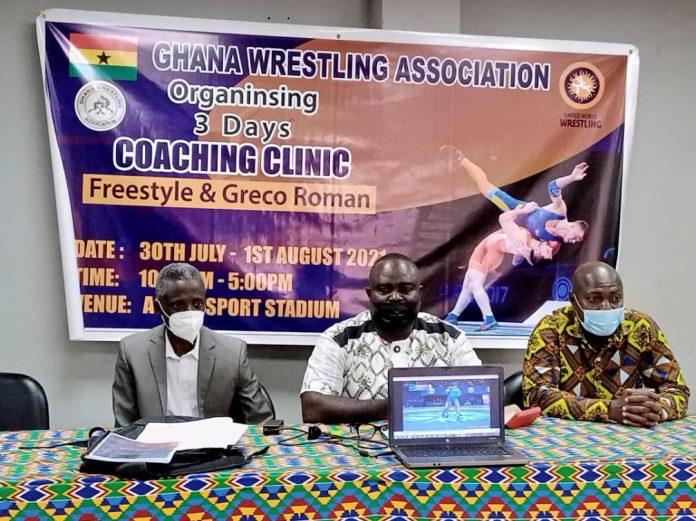 Ghana Wrestling Coaching Clinic