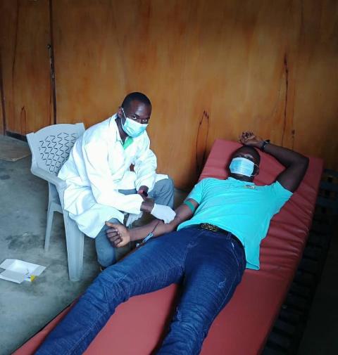 Health Kadjebi Blood Donation