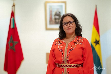 Her Excellency Mrs Imane Ouaadil