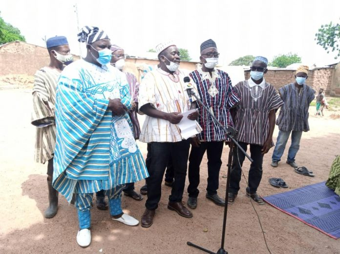 Kuoro Nadi Musah Kibey II, elected Paramount Chef of the Kojokperi Traditional Area and other pictures from the event