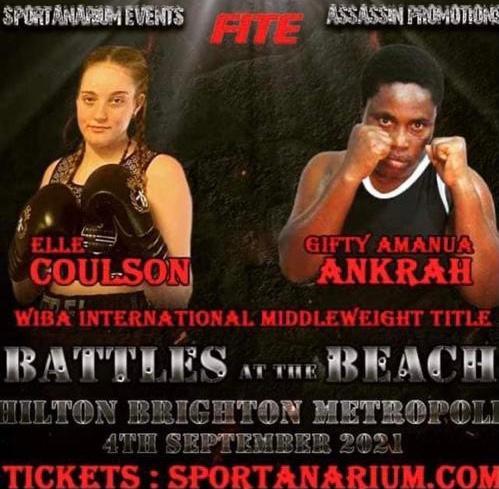 Sport Boxing Ankrah