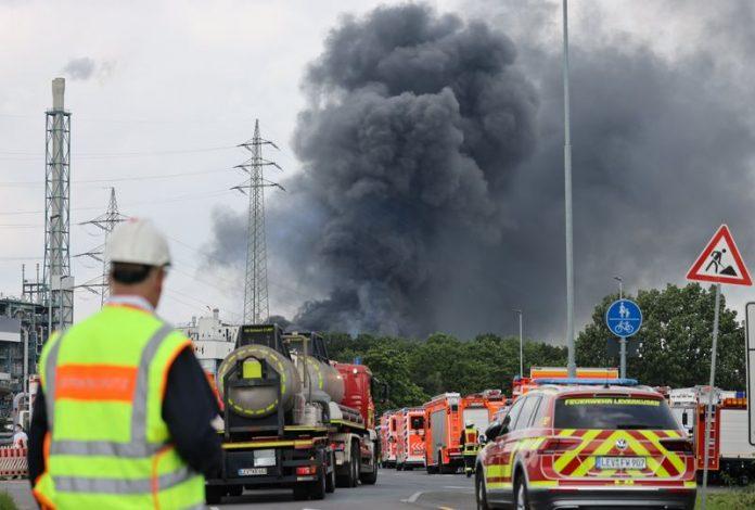 German chemicals explosion