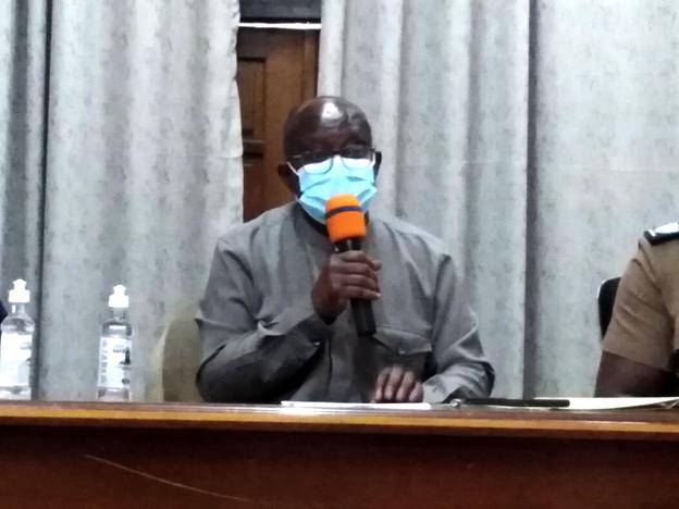 Mr. Simon Osei-Mensah,