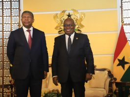 Politics Ghana Angola