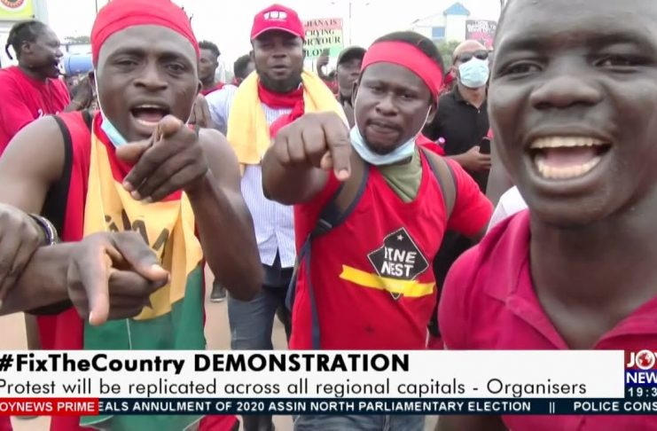 #FixTheCountry demonstration