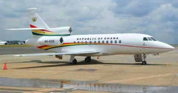 Government set to order brand new presidential jet following private jet wahala Source: UGC